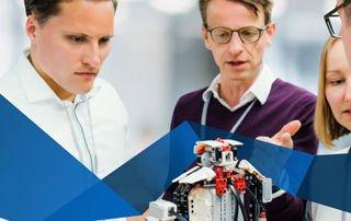 SZ Bildung - TUM School of Management - 3 EMBA Teaser Innovation Business Creation 320x202