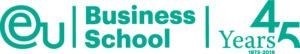 EU Business School, Logo 45 Jahre
