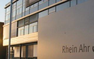 RheinAhrCampus Logo Schild