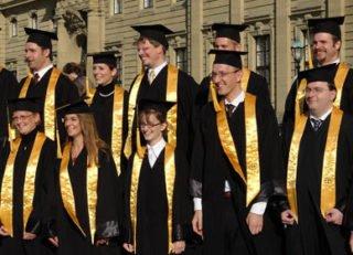Uni Würzburg Abschlussfoto