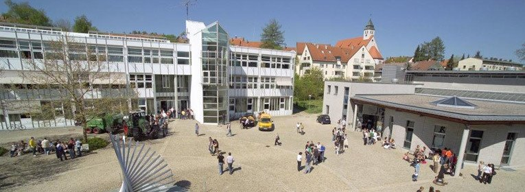 MBA Kempten Campus Innenhof