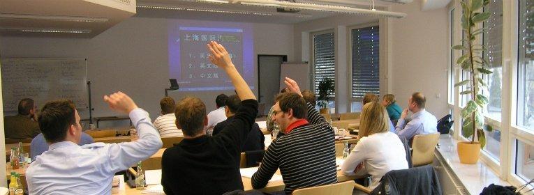Vorlesung hfwu MBA Programm