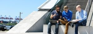 NORDAKADEMIE MBA Docklands Hamburg Campus Studierende Gruppe