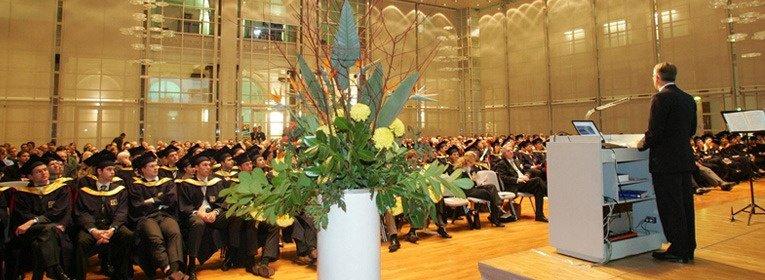 Graduierung Feier SIBE MBA Steinbeis
