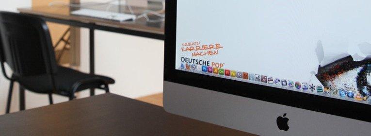 Ausbildungsgang Mediendesign an der Deutschen POP Foto Designraum