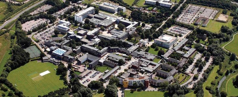 Open University Campus Luftbild