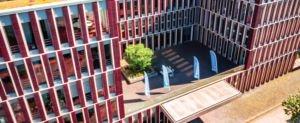 HS Fresenius Düsseldorf Vogelperspektive