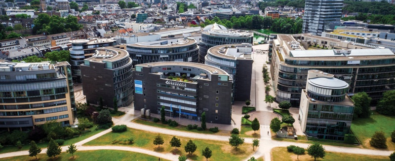 HS Fresenius Campus Köln Luftbild
