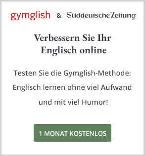 Gymgylish & SZ; Englisch lernen; Banner