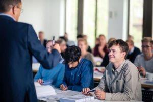 Studenten im JurGrad Seminar