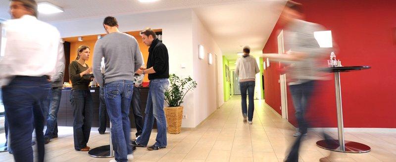 LLM Uni Münster Campus Cafeteria