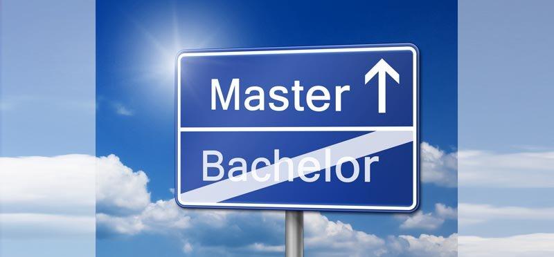 Allensbacher HS Schild Bachelor zum Master