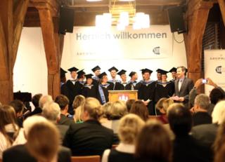 Leuphana Universität Lüneburg Abschlussfeier