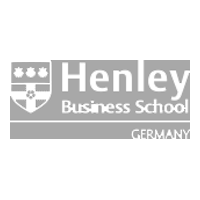Logo Henley Business School grau