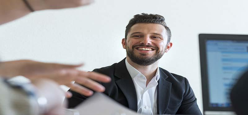 SBS Online MBA student