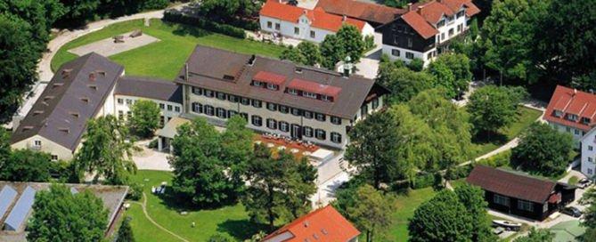 Landheim Schondorf, Luftbild