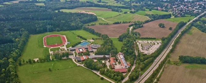 Munich International School, Teaser Luftbild