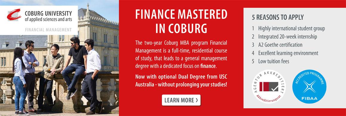 Anzeige HS Coburg