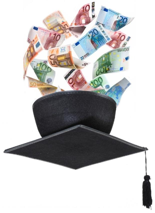 Symbolbil finanzielle Förderung von Aus- und Weiterbildung